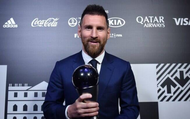 Messi levou o prêmio