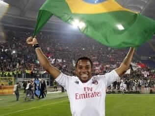 Robinho é a aposta do Santos para o lugar de Neymar