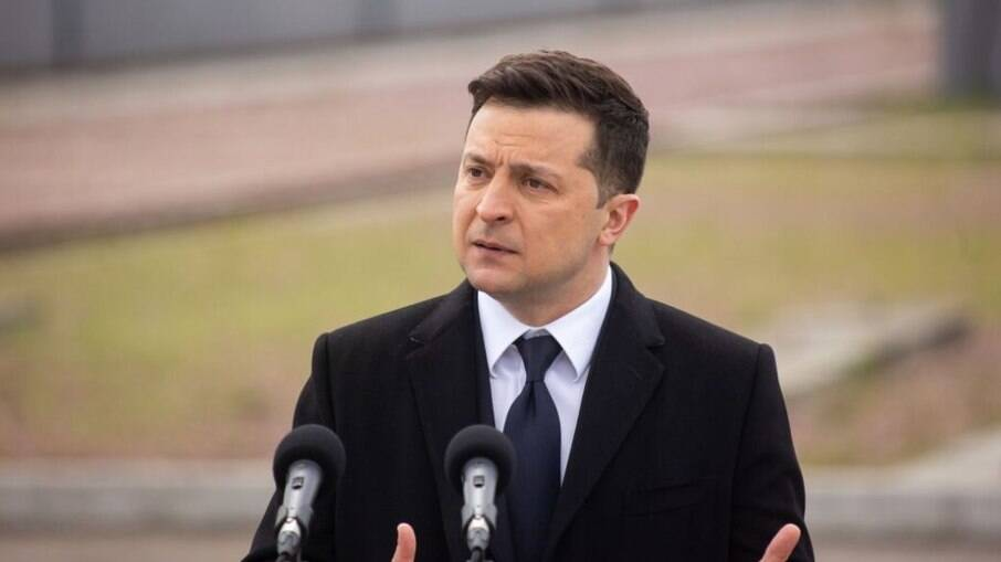 Volodymyr Zelensky, presidente da Ucrânia