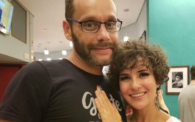 Carlos Navas e Amanda Acosta