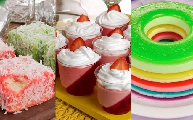 7 receitas saborosas de gelatina para inovar na sobremesa