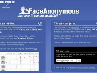 FaceAnonymous quer limitar número de acessos ao Facebook