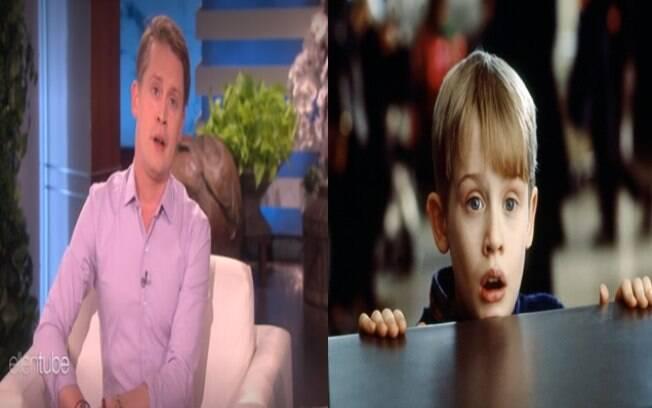 Macaulay Culkin impressiona com poucas mudanças em seu rosto