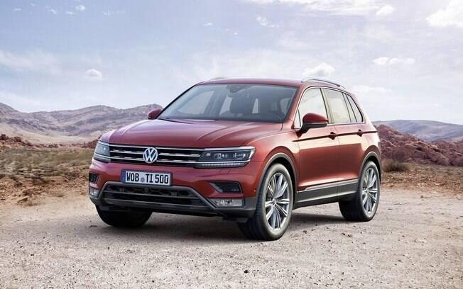 A nova geração do Volkswagen Tiguan será feita no México. Como os EUA são prioridade, Brasil fica para a segunda fase, em 2017.