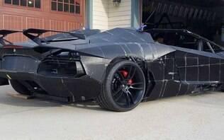 Pai e filho constroem uma Lamborghini usando impressora 3D