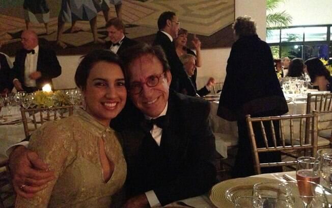 Moacyr e Pamela estão juntos desde o início do ano