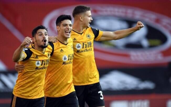 Gols no início garantem vitória do Wolves sobre o Sheffield United
