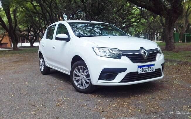 Renault Sandero branco