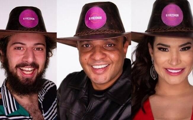 Cartolouco, Fernandinho e Raissa estão na primeira roça
