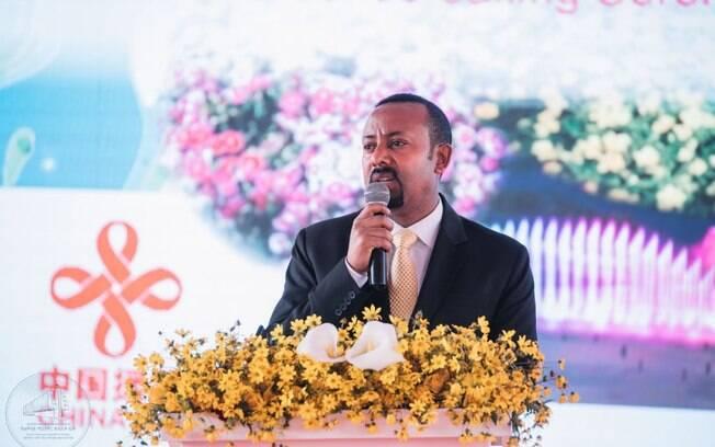 Abiy Ahmed recebeu o Prêmio Nobel da Paz por seus esforços em combater rivalidades étnicas