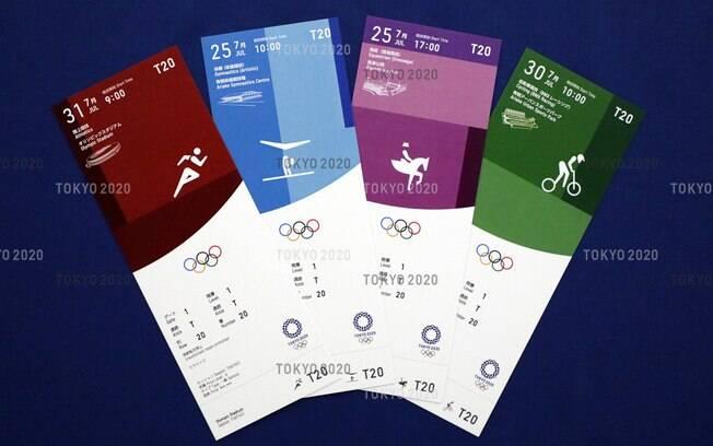 Ingressos dos Jogos Olímpicos de Tóquio