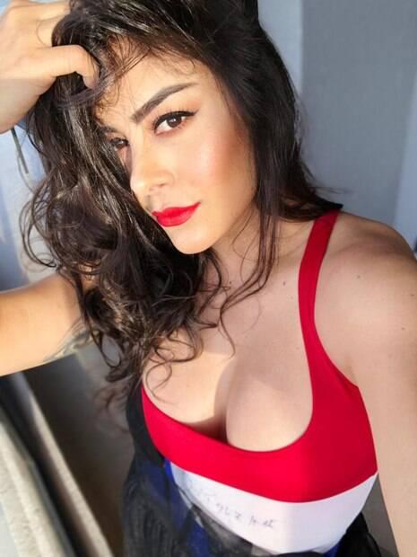 Modelo paraguaia Larissa Riquelme