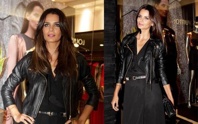 Fernanda Motta também prestigiou a reinauguração da loja