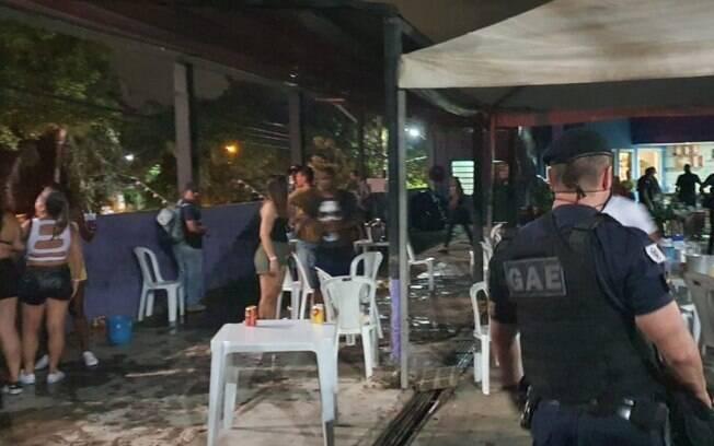 Guarda Municipal encerra festa com 250 pessoas em Campinas