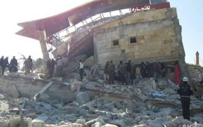 Hospital da ONG funcionava na província de Idlib, em área onde atua o grupo Estado Islâmico