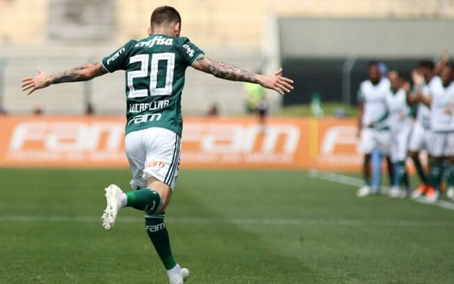 Lucas Lima abriu caminho para vitória do líder Palmeiras sobre o Cruzeiro