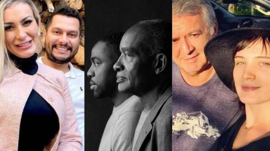 Veja as homenagens de Dia dos Pais dos famosos