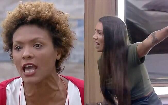Lidi e Stéfani tem briga feia com direito a choro e gritaria