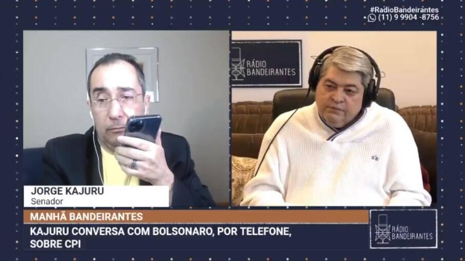 Jorge Kajuru e Datena