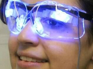 Fotorreceptores, revelados em um estudo com ratos cegos em 2002, são particularmente sensíveis à luz azul.