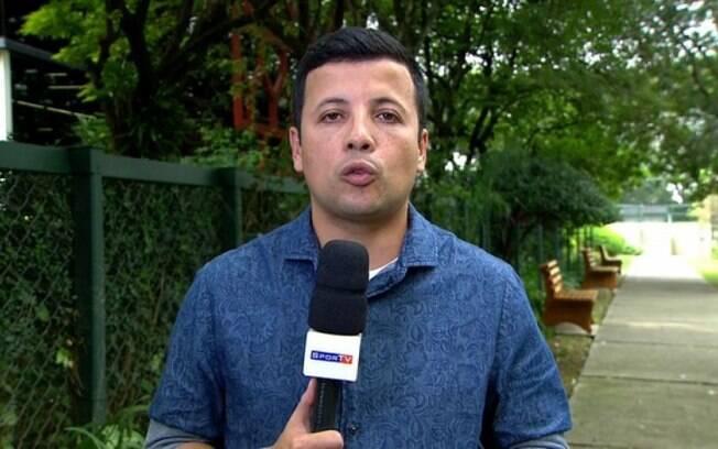 André Hernan, repórter do SporTV