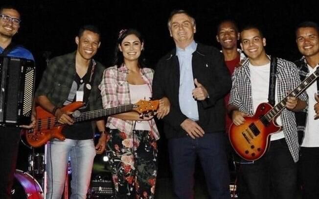 Festa contou com a participação de diversos funcionários do Planalto