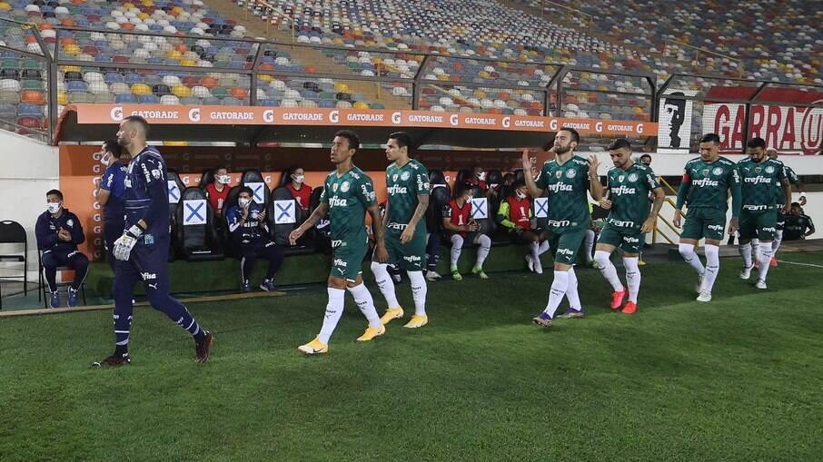 Palmeiras estreou na fase de grupos da Libertadores com vitória sobre o Universitário