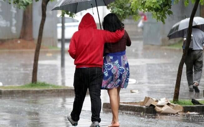 Defesa Civil alerta para chuvas fortes a partir desta quinta-feira