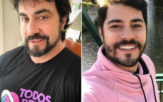 Padre Fábio de Melo e Evaristo Costa