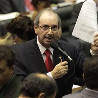 Eduardo Cunha (PMDB), presidente da Câmara dos Deputados