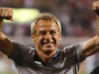 Klinsmann está no comando da seleção dos Estados Unidos desde 2011