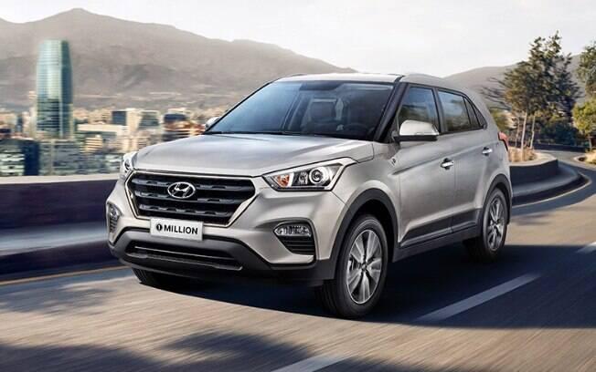 Assim como io Nissan Kicks, outros SUVs compactos têm séries limitadas, como o Hyundai Creta 1 Million