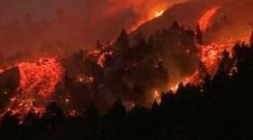 Erupção do vulcão pode durar de 24 a 84 dias, segundo projeção
