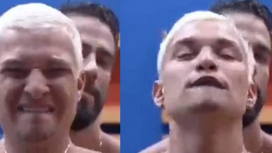 Câmeras deixam MC Gui e Erasmo em cena com conotação sexual