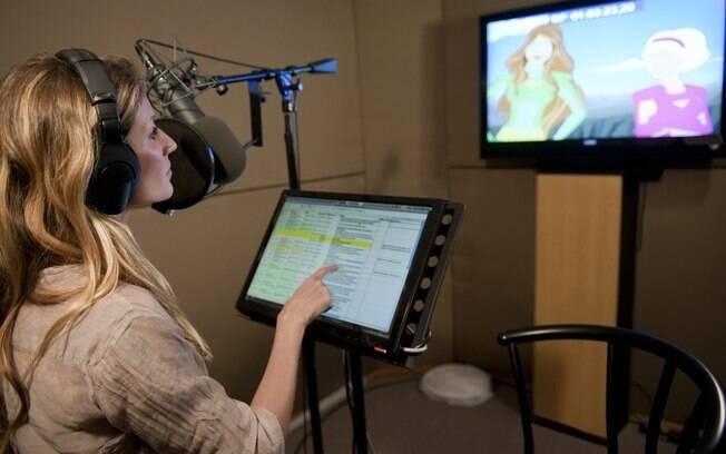 Gisele dubla sua personagem em série animada
