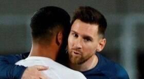 Ex-Flamengo se surpreende com Messi: