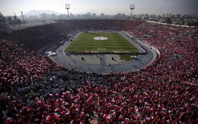 O Estádio Nacional do Chile deve ser o palco da final da Libertadores de 2019