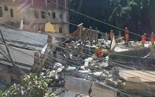 Bombeiros encontram corpo da 18ª vítima da queda de prédios no Rio