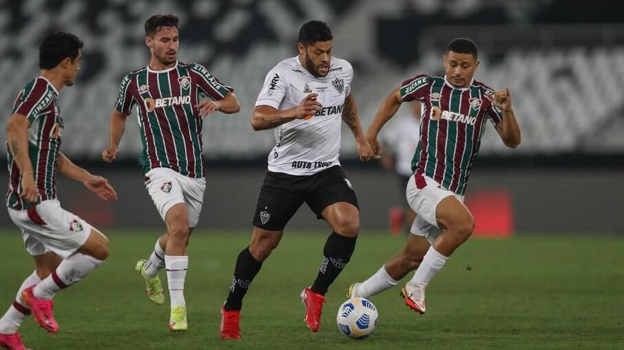 Fluminense perdeu para o Atlético-MG na primeira partida