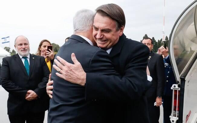 Anúncio feito por Bolsonaro e Netanyahu incomodou a Autoridade Palestina