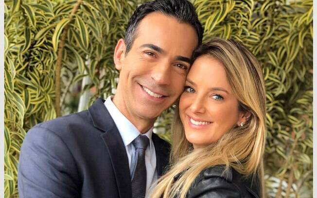 César Tralli e Ticiane Pinheiro