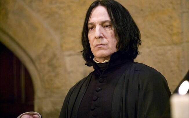 Alan Rickman interpretou Severo Snape nos oito filmes da franquia