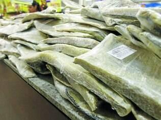 Salgado. Preço do bacalhau saithe varia quase 300% de um supermercado para o outro