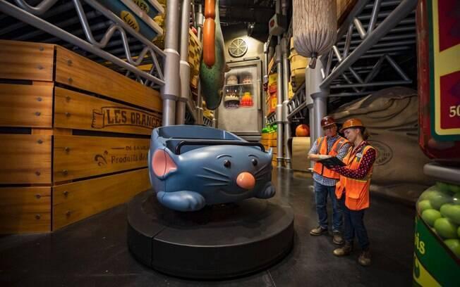 A atração inspirada na animação Ratatouille será inaugurada no Epcot