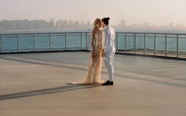 Wesley Safadão e Thyane Dantas já se casaram no civil