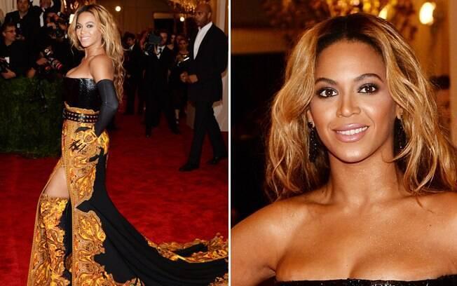 Negras, como a cantora Beyoncé, ficam lindas com cabelos loiros! Tons que puxem para o cobre harmonizam com a pele negra