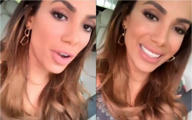 Prestes a comemorar aniversário, Anitta usa os stories para mandar um recado aos penetras de plantão