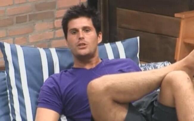 Thiago Gagliasso garante que Joana vai ficar com raiva de Gui Pádua quando saber o que ele disse sobre ela