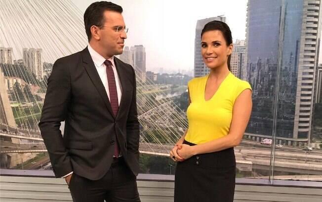Rodrigo Bocardi e Sabina Simonato