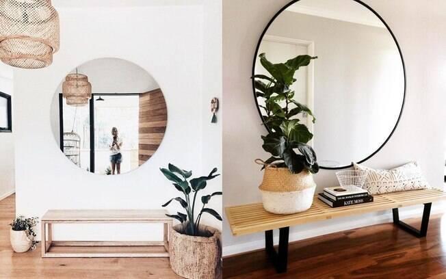 Para mexer no hall de entrada de um jeito fácil e compartilhado, aposte em elementos neutros e contemporâneos para criar o clima
